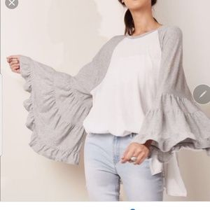 Free People No Crying in Baseball  Size L Top